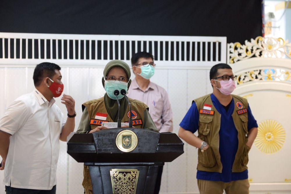 Update Covid-19 Riau: Tambah 134 Konfirmasi dan 28 Pasien Telah Sembuh