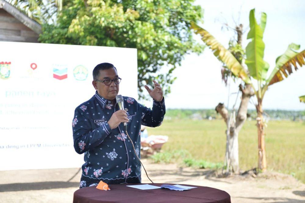 Wagubri Ajak Poktan di Riau Tingkatkan Inovasi Pertanian
