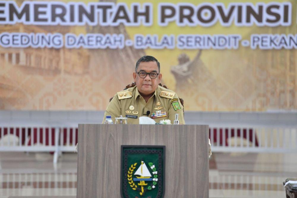 Wagubri Belum Pastikan Riau PSBB