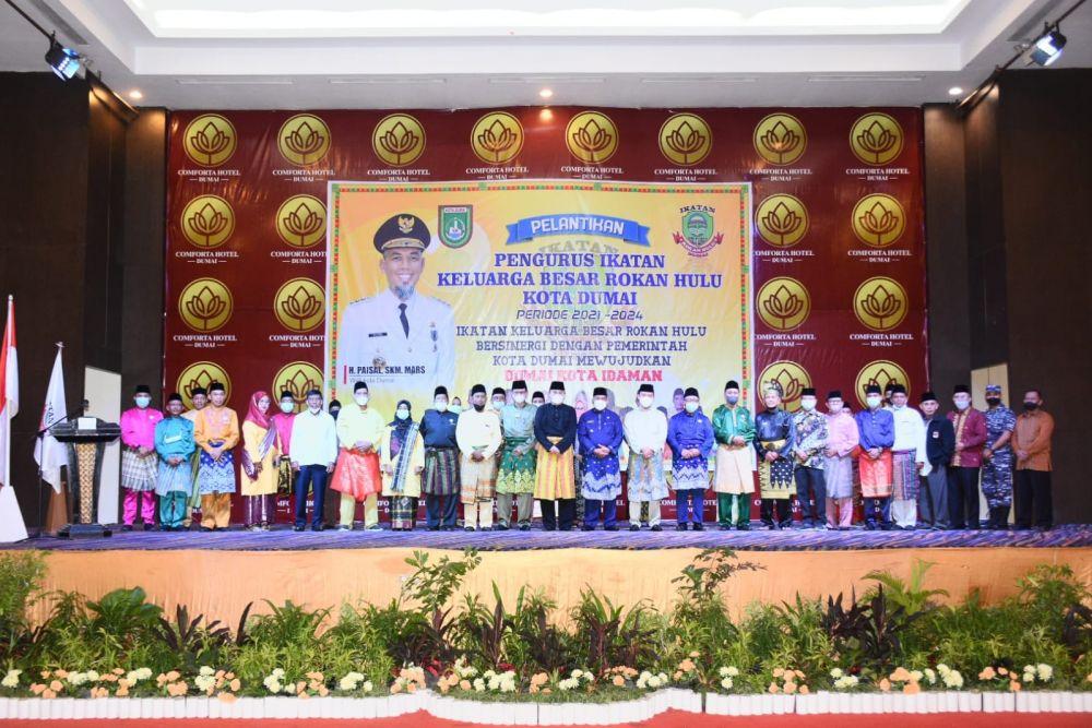 Wagubri Hadiri Pelantikan Pengurus Hebitren Riau