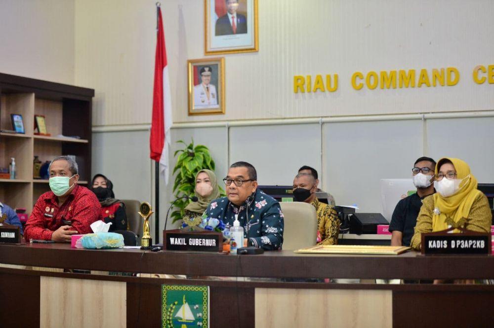 Wagubri Harap Kabupaten/Kota Se-Riau Komitmen Dalam Perlindungan Anak di Riau