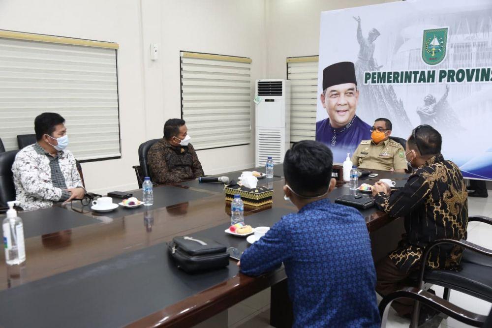 Wagubri Terima Silahturahmi Perkumpulan Keluarga Nias Riau