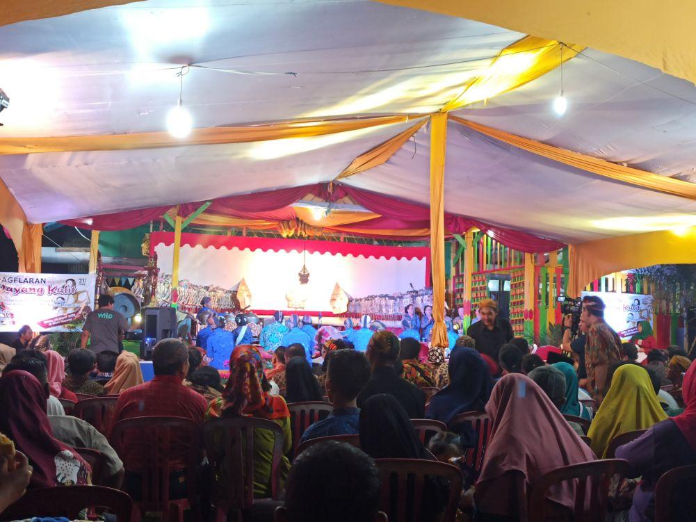 Wayang Kulit Semarakkan HUT ke-21 PKNS Provinsi Riau