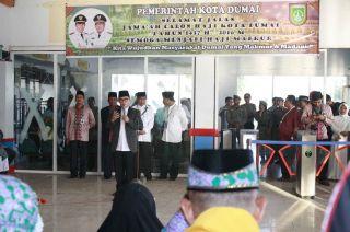 207 Calon Haji Dumai Tinggalkan Tanah Air Pagi Ini