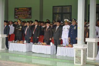Dandim Dumai Pimpin Upacara HUT TNI ke 71