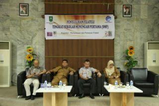 Diskominfo Riau Sosialisasikan Filateli Tingkat SLTP
