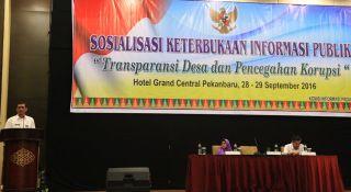 Komisi Informasi Gelar Sosialisasi Keterbukaan Informasi Publik