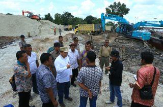 Sesuai Kontrak Proyek Jalan Lukun-Sungaitohor Harus Tuntas 90 Hari
