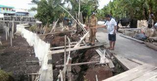 Warga Telesung Meranti Selamatkan Kampung