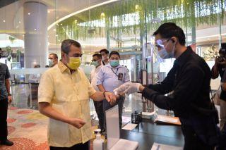 Gubernur Riau tinjau Bisokop di Pekanbaru