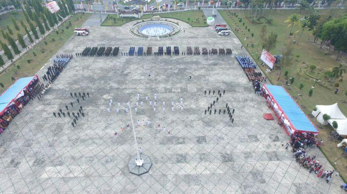 Formasi 74 Paskibraka Riau 2019
