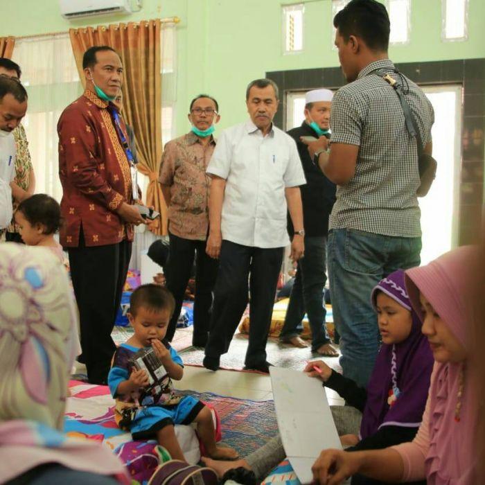Gubernur Riau tinjau Posko kesehatan dan rumah singgah
