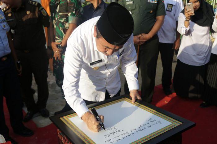 Gubernur Riau Resmikan Puskesmas Dumai