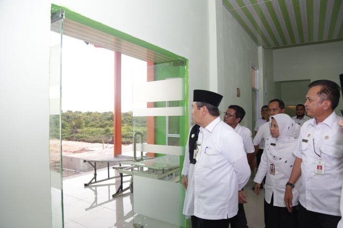 Gubernur Riau Tinjau Puskesmas Dumai