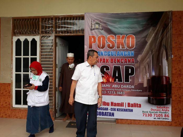 Gubri Kunjungi Posko Pelayanan Kesehatan