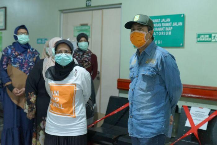 Gubri Tinjau Rumah Sakit Awal Bros Pekanbaru