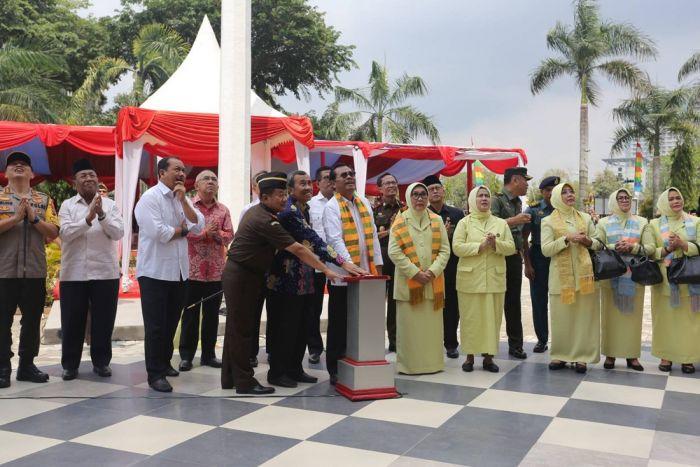 Peresmian Gedung Kejati Riau