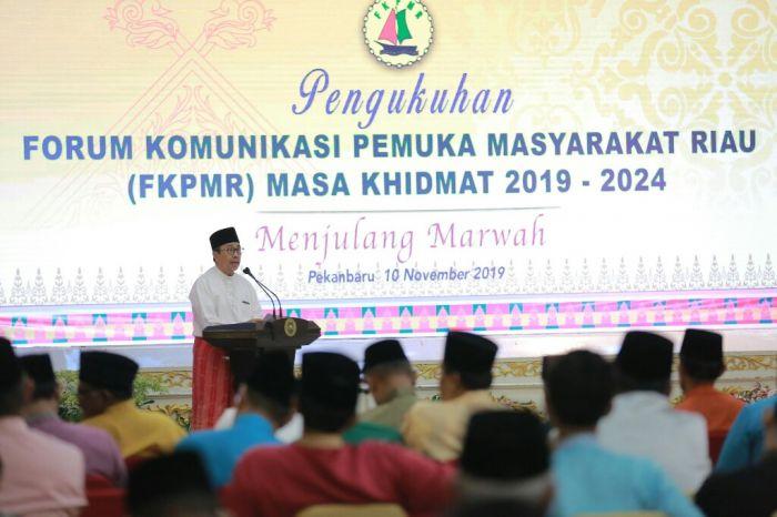Sambutan Gubernur Riau