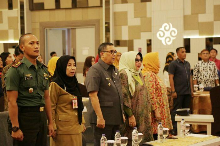Wagubri Hadiri Pertemuan Koordinasi KPA Riau