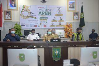 Gubernur Riau Hadiri Webinar Amsi Riau