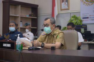 Gubernur Riau Jadi Keynote Speaker Webinar Amsi Riau