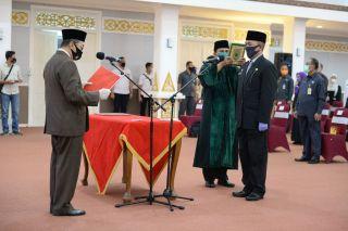 Gubernur Riau Lantik Kasatpol PP