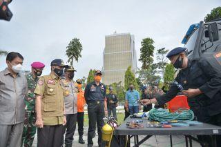 Gubri Periksa Kesiapan Menghadapi Bencana di Riau