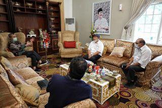 Gubri Terima Audiensi PWI Riau