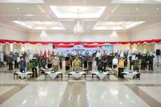 Penyerahan Sertifikat Tanah Presiden Joko Widodo Secara Virtual
