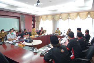 Pertemuan Wakil Gubernur Riau dengan FPK Riau