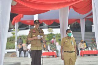 Pimpin Apel Kesiapan Menghadapi Bencana di Riau