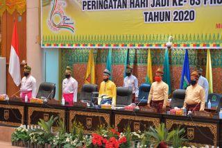 Rapat Paripurna  HUT ke 63 Provinsi Riau