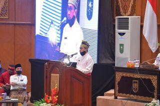 Sambutan Gubernur Riau di Rapat Paripurna HUT Riau ke 63
