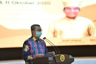 Sambutan Gubernur Riau Pelantikan DKR Riau
