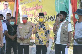 Sambutan Gubernur Riau Saat menghadiri Pemotongan Hewan Kurban dari Jenderal TNI Moeldoko