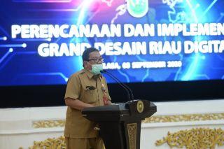 Sambutan Kadis Kominfo dan Statistik Riau