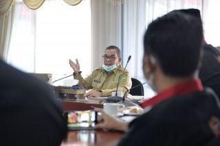 Sambutan Wagubri Dalam Pertemuan dengan FPK Riau
