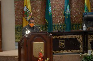 Sambutan Wakil Gubernur Riau di Sidang Paripurna DPRD Riau