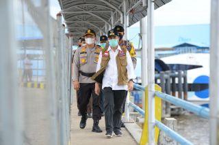 Gubernur Riau Tinjau Roro Dumai
