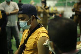 Vaksinasi Massal Riau