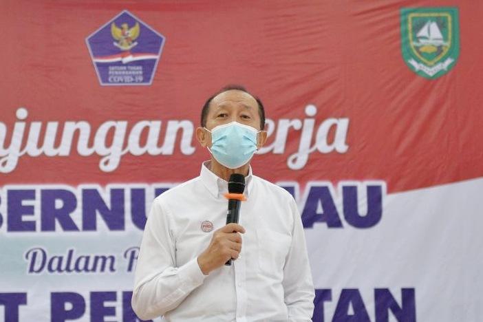 Ahli epidemiologi Riau, dr Wildan Asfan Hasibuan